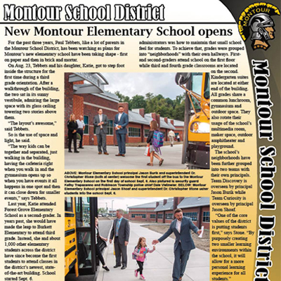 Montour School District September_October newsletter