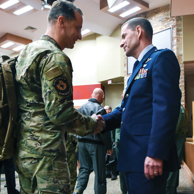 Col. Robinson assumes command of 911th