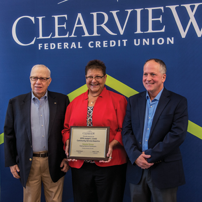 Clearview names Joseph C. Cirelli Award Winner