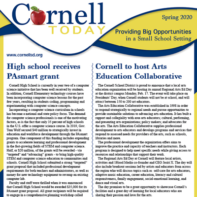 Cornell School District Newsletter