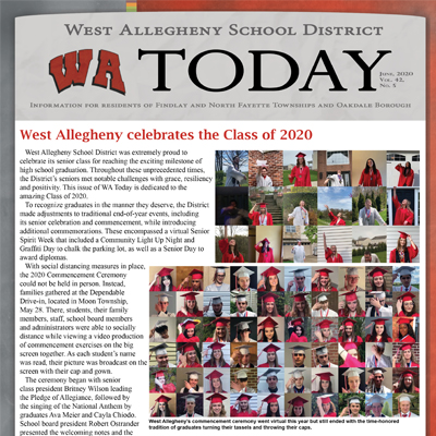 WA Today - June-July - Congrats WA Class of 2020