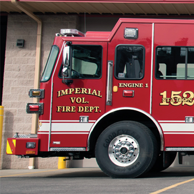Imperial VFD gets new firetruck