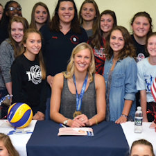 Olympic medalist visits Clearview