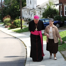 Bishop Zubik visits Mooncrest